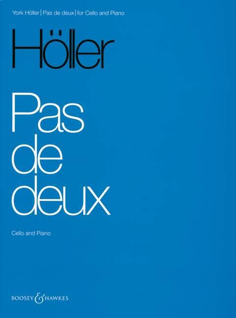 Pas de deux Hoeller, Hoeller, Hoeller, York violonchelo y piano 9790060110382  Hay más marcas de productos de alta calidad.